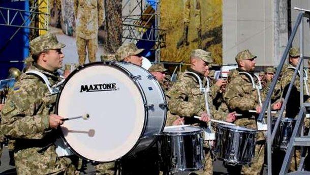 Військовий оркестр у Києві