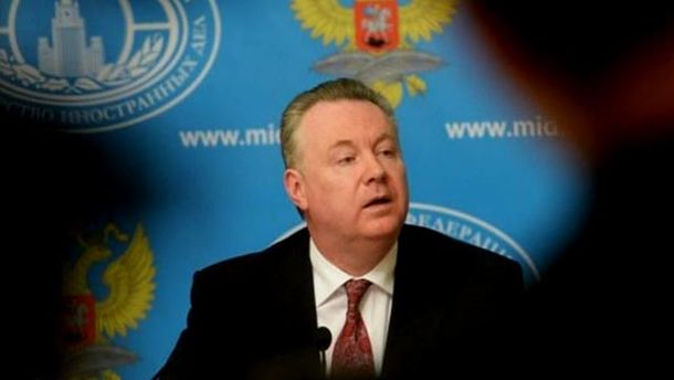 Постоянный представитель России при ОБСЕ Александр Лукашевич