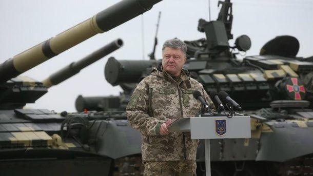 Порошенко анонсував контрактну армію з кінця жовтня