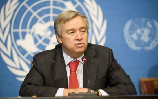 Избранный генеральный секретарь ООН призвал краспределению беженцев постранам мира