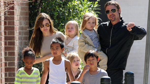 Экс-супруги с детьми