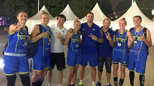 Жіноча збірна України з баскетболу 3X3