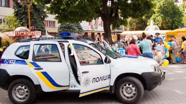ВИвано-Франковске произошла массовая драка, правоохранителям довелось использовать оружие