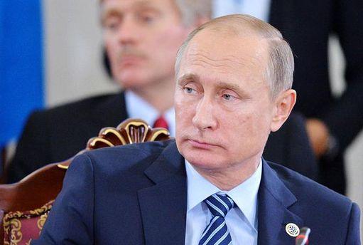 Впроцессе выступления В. Путина наГоа неожиданно погас свет
