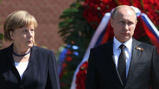 Дії Путіна все більше дратують Меркель
