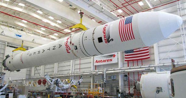 Ракетоноситель Antares OA-5 со спутником Cygnus и украинским двигателем