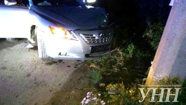 Винуватець аварії теж постраждав