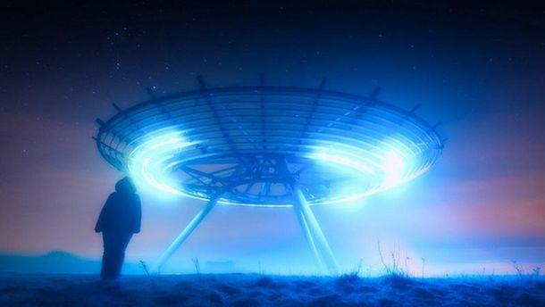 Часть людей создали НЛО