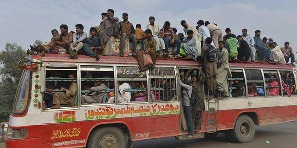 Автобус в Пакистане