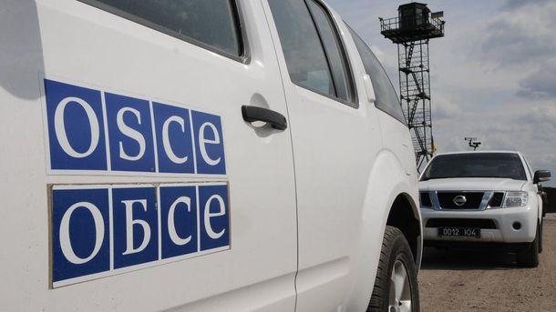 Наблюдатели ОБСЕ немогут попасть научасток разведения вБогдановке из-за мин