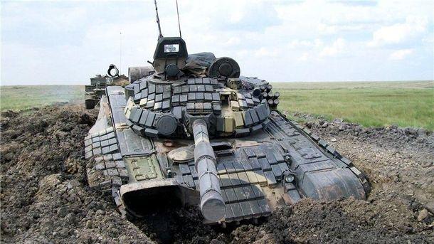 Окупанти отримали російські Т-72