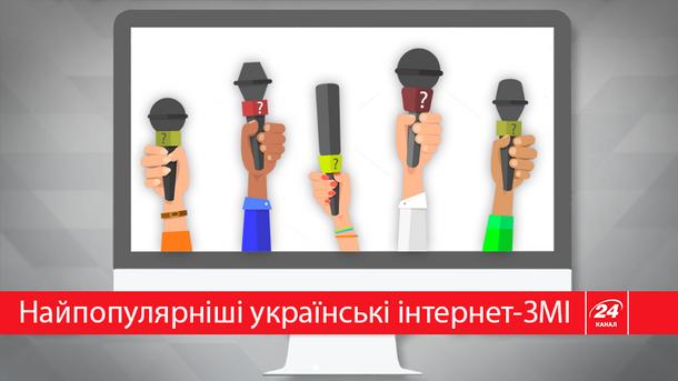 Какие новостные сайты читают украинцы?