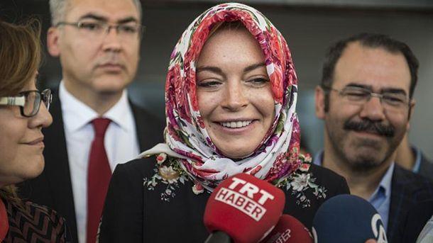 Линдсей Лохан в Турции