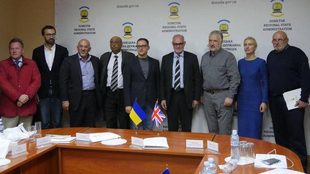 Делегация Соединенного Королевства на Донбассе
