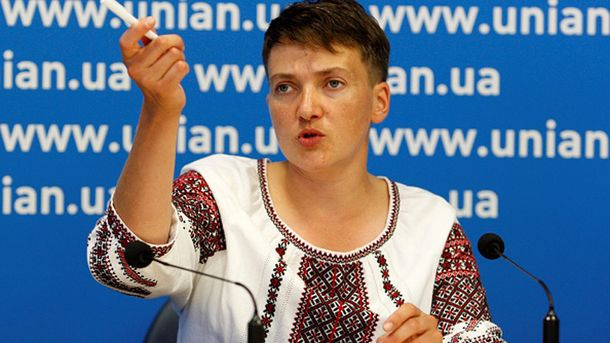 Патриотка Надежда Савченко