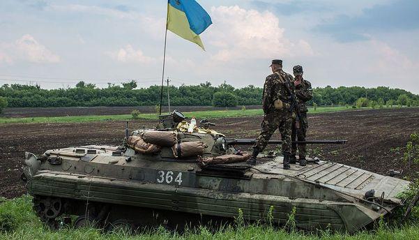 Взоне АТО умер украинский военнослужащий