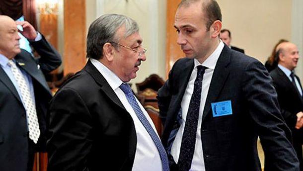 Судьи Высшего хозяйственного суда Украины Емельянов и Татьков