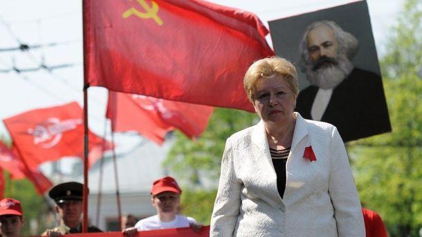 Экс-коммунистка Алла Александровская