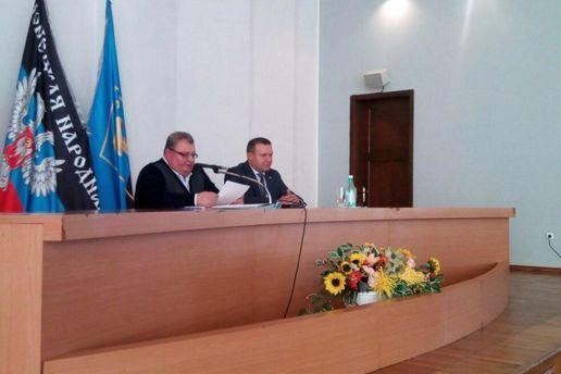 Захарченко звільнив «мера» Донецька