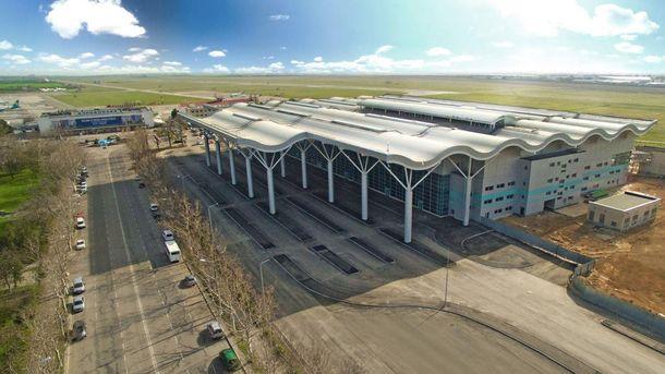 Новый терминал одесского аэропорта