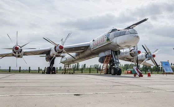 Бомбардировщик Ту-95МС зажегся нааэродроме под Иркутском