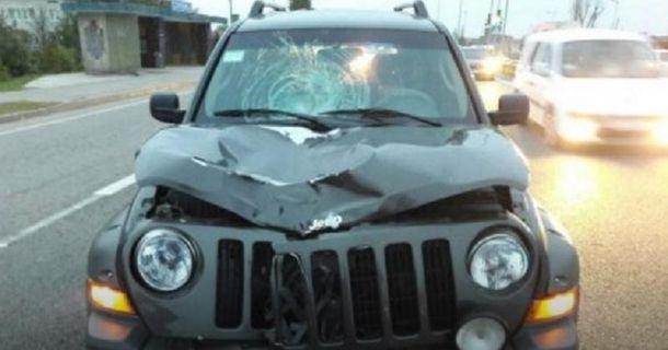 Под Львовом военный автомобиль сбил насмерть женщину