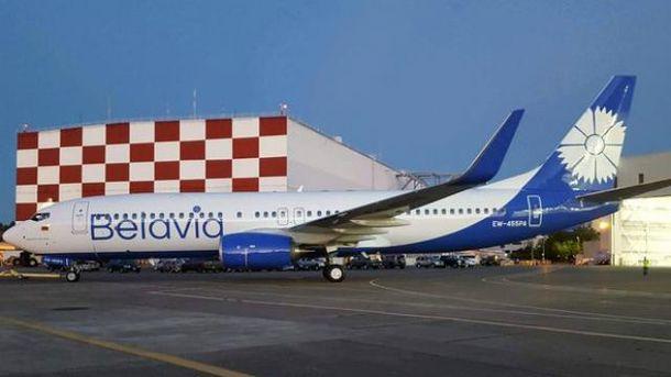 Літак «Бєлавіа» повернули доКиєва, погрожуючи підняти винищувачі