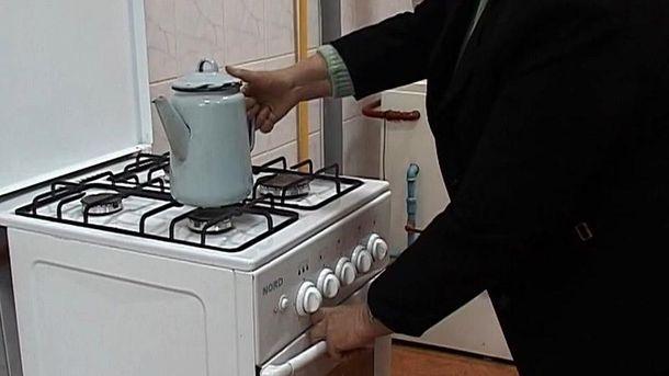 Часть граждан Геническа осталась без газа