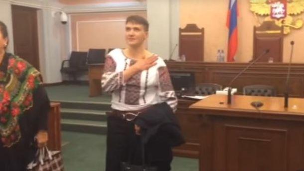 «Слава Украине» иукраинский язык в русском суде отСавченко