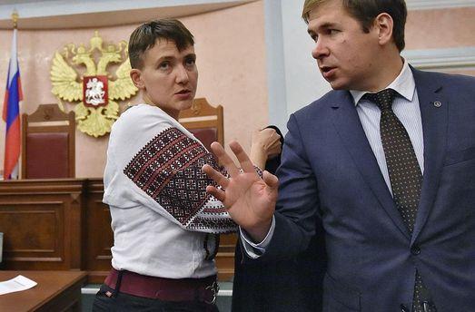 Визит в столицуРФ Савченко завершила прогулкой поКрасной площади