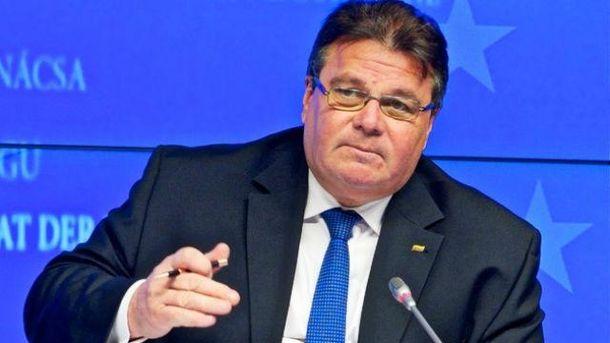 Руководитель МИД Литвы назвал Российскую Федерацию суперпроблемой,