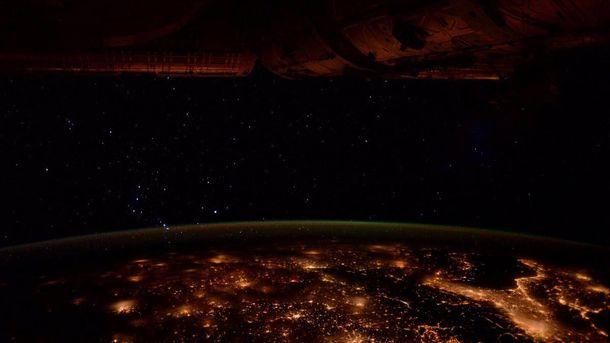 Астронавт NASA сделала снимок ночной Европы изкосмоса