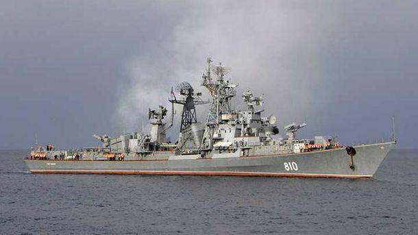 Сторожевой корабль «Сметливый» покинул воды Севастополя инаправился вСредиземное море