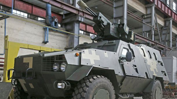 Киевский бронетанковый завод разработал боевой модуль «Вий»
