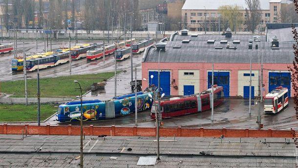 Женщина погибла врезультате взрыва втрамвайном депо вКиеве