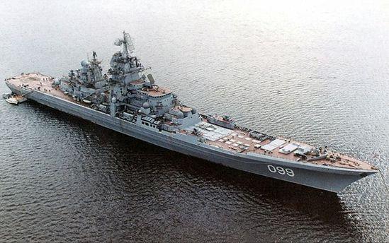 Русская авианосная группа кораблей вошла вСредиземное море