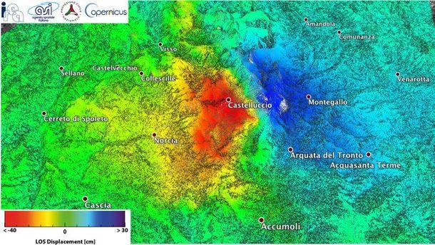 Сдвиг земной коры на70см спровоцировало землетрясение вИталии
