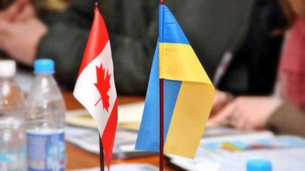 Канада начала процесс имплементации Соглашения освободной торговле с Украинским государством