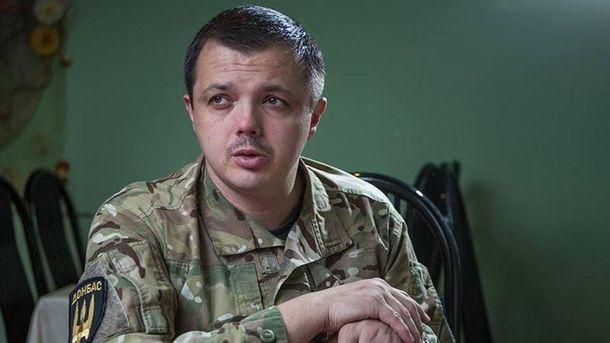 Суд повторно лишил Семенченко звания майора