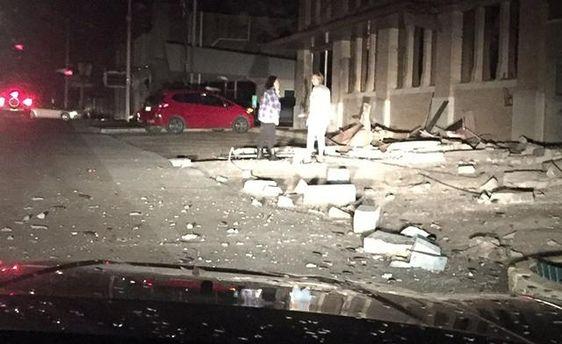 Потужний землетрус відбувся у США