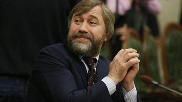 Новинский отложил возвращение в государство Украину