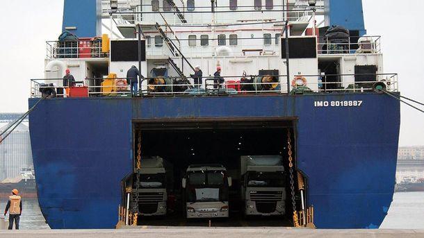 Турция отправила судно вСевастополь