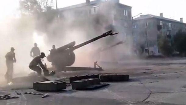 Боевики обстреляли Торецк. умер мирный гражданин
