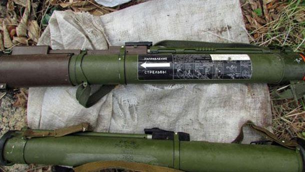Милиция задержала жителя Авдеевки, который нелегально сохранял гранатометы