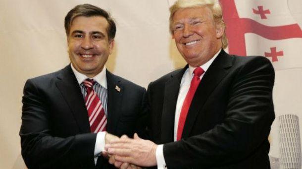 Саакашвили делает политическую силу для досрочных выборов вРаду