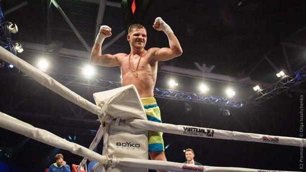 Украинский боксер одержал пятую победу напрофи-ринге