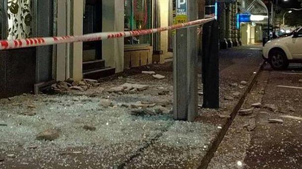 Из новейшей Зеландии поступили первые сообщения ожертвах землетрясения