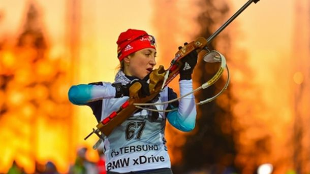 Украинская биатлонистка Абрамова дисквалифицирована нагод