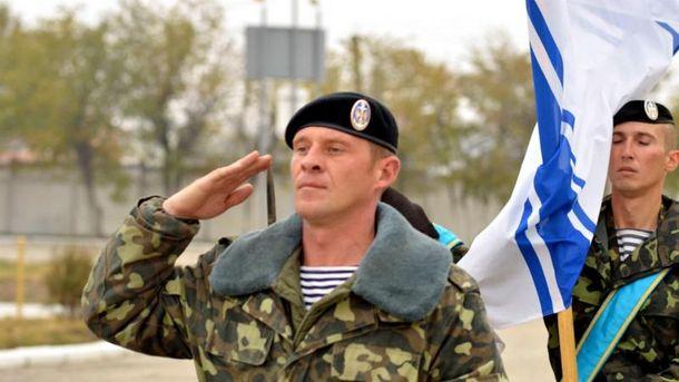 Руководство Украины поздравило морских пехотинцев спраздником