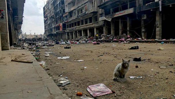 Из-за постоянных бомбардировок граждане Алеппо остались без медицинского обслуживания— вражда вСирии